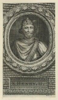 King Henry II, by George Vertue, mid 18th century - NPG D23630 - © National Portrait Gallery, London