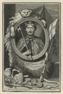 King Richard I ('the Lionheart'), by George Vertue - NPG D23631