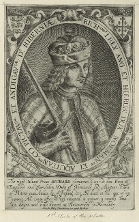 King Richard I ('the Lionheart'), possibly by Renold or Reginold Elstrack (Elstracke) - NPG D23635