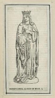 Queen Berengaria of Navarre, after Unknown artist - NPG D23639