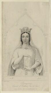 Queen Berengaria of Navarre, after Auguste Hervieu - NPG D23640