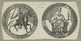 The Seal of King John from the Magna Carta, after Unknown artist - NPG D23650