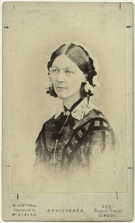 Florence Nightingale, by William Edward Kilburn - NPG x16135