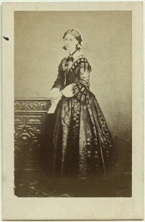 Florence Nightingale, by William Edward Kilburn, published by  Ashford Brothers & Co, (circa 1856) - NPG x16138 - © National Portrait Gallery, London
