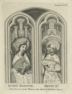 Queen Eleanor and King Henry III, after Unknown artist - NPG D23653
