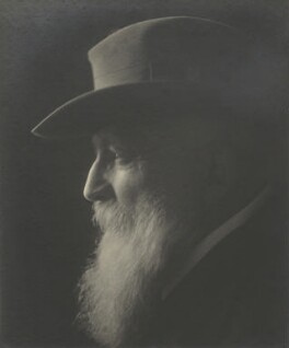 Auguste Rodin, by Claude Harris, 1910s - NPG x9102 - © National Portrait Gallery, London