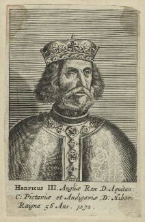 Fictitious portrait of King Henry III, after Unknown artist, 1649 - NPG D23656 - © National Portrait Gallery, London