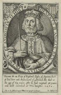 King Henry III, by Renold or Reginold Elstrack (Elstracke), published by  Compton Holland - NPG D23657