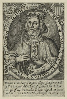 King Henry III, by Renold or Reginold Elstrack (Elstracke), published 1638 or 1662 (Engraved 1618) - NPG D23664 - © National Portrait Gallery, London