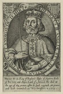 King Henry III, by Renold or Reginold Elstrack (Elstracke) - NPG D23664