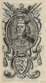 King Henry III, after Unknown artist - NPG D23659