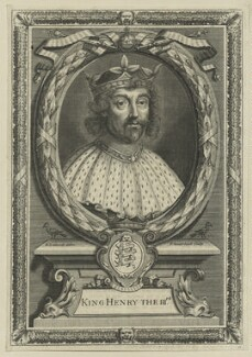 King Henry III, by Peter Vanderbank (Vandrebanc), after  Edward Lutterell (Luttrell) - NPG D23663