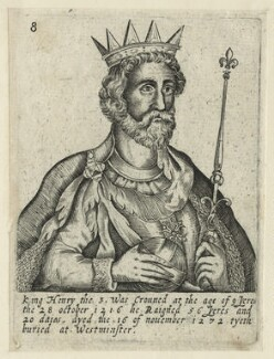 King Henry III, by Unknown artist, 1618 - NPG D23668 - © National Portrait Gallery, London