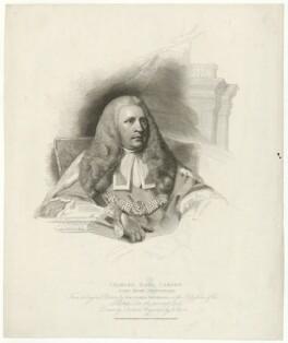 Charles Pratt, 1st Earl Camden, by Henry Meyer, after  John Jackson, after  Sir Joshua Reynolds - NPG D31569