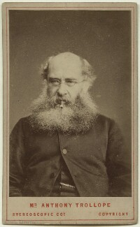 Anthony Trollope, by London Stereoscopic & Photographic Company, 1870s - NPG x75762 - © National Portrait Gallery, London