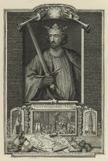 King Edward I ('Longshanks'), by George Vertue - NPG D23671