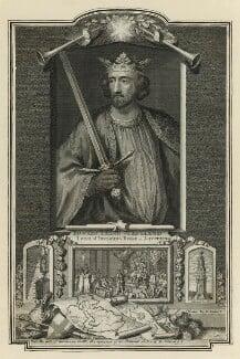 King Edward I ('Longshanks'), by George Vertue, 1732 - NPG D23671 - © National Portrait Gallery, London