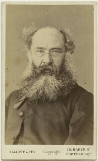 Anthony Trollope, by Elliott & Fry - NPG x12818