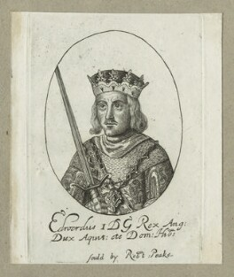King Edward I ('Longshanks'), possibly by William Faithorne - NPG D23674