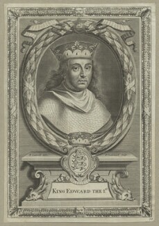 King Edward I ('Longshanks'), by Peter Vanderbank (Vandrebanc), after  Edward Lutterell (Luttrell), 1706 - NPG D23675 - © National Portrait Gallery, London