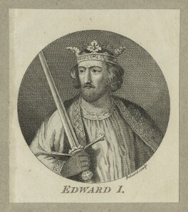 King Edward I ('Longshanks'), by Louis Philippe Boitard - NPG D23677