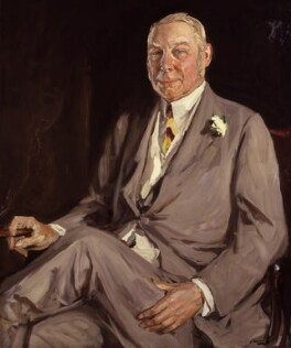 Hugh Cecil Lowther, 5th Earl of Lonsdale, by Sir John Lavery - NPG 6480