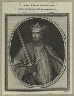 King Edward I ('Longshanks'), by John Goldar - NPG D23679
