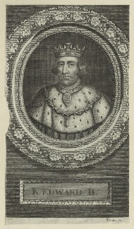 King Edward II, by George Vertue - NPG D23683