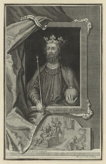 King Edward II, by George Vertue - NPG D23684