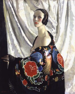 Doris Zinkeisen, by Doris Zinkeisen, exhibited 1929 - NPG  - © estate of Doris Clare Zinkeisen