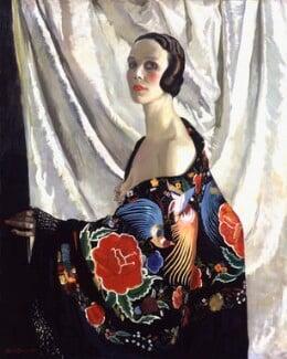 Doris Zinkeisen, by Doris Clare Zinkeisen, exhibited 1929 - NPG 6487 - © estate of Doris Clare Zinkeisen