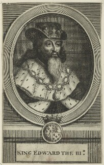 King Edward III, after Michael Vandergucht, late 17th century - NPG D23698 - © National Portrait Gallery, London