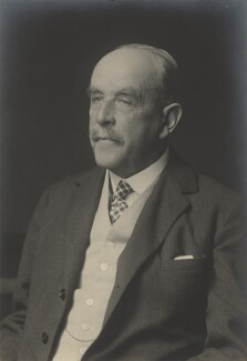 Sir Richard Beale Colvin, by Walter Stoneman - NPG x166703