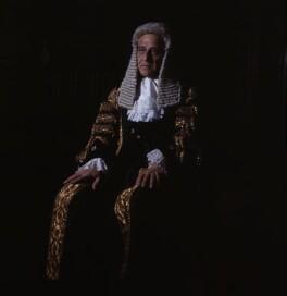 Horace Maybray King, Baron Maybray-King, by Bassano Ltd - NPG x172130