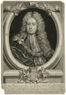 Henry Somerset, 2nd Duke of Beaufort, by George Vertue, after  Michael Dahl - NPG D31580