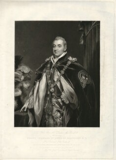 Henry Charles Somerset, 6th Duke of Beaufort, by Charles Turner, after  Thomas Phillips - NPG D31581
