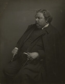 G.K. Chesterton, by James Craig Annan, 1912 - NPG x6021 - © National Portrait Gallery, London