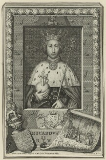 King Richard II, by George Vertue - NPG D23712