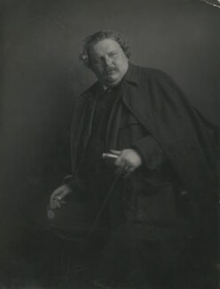 G.K. Chesterton, by James Craig Annan - NPG x6022