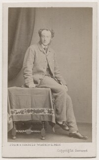 Sir John Everett Millais, 1st Bt, by John & Charles Watkins - NPG Ax7550