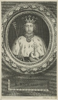 King Richard II, by George Vertue - NPG D23714