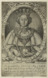 King Richard II, by Renold or Reginold Elstrack (Elstracke) - NPG D23715