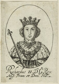 King Richard II, probably by William Faithorne, probably 17th century - NPG D23718 - © National Portrait Gallery, London