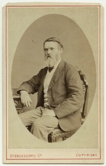 Tom Taylor, by London Stereoscopic & Photographic Company - NPG x46488