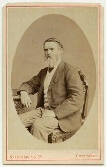 Tom Taylor, by London Stereoscopic & Photographic Company - NPG x46488