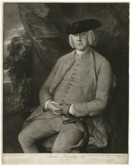 Mark Beaufoy, by Valentine Green, after  Thomas Gainsborough - NPG D31587