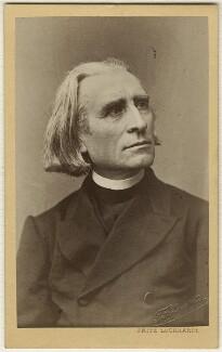 Franz Liszt, by Fritz Luckhardt - NPG Ax38136