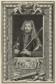 King Henry IV, by George Vertue - NPG D23723