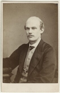 Walter Bache, by Herbert Watkins, 1866 - NPG Ax38138 - © National Portrait Gallery, London