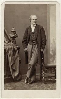 Walter Bache, by Sarony & Co, 1863 - NPG Ax38139 - © National Portrait Gallery, London